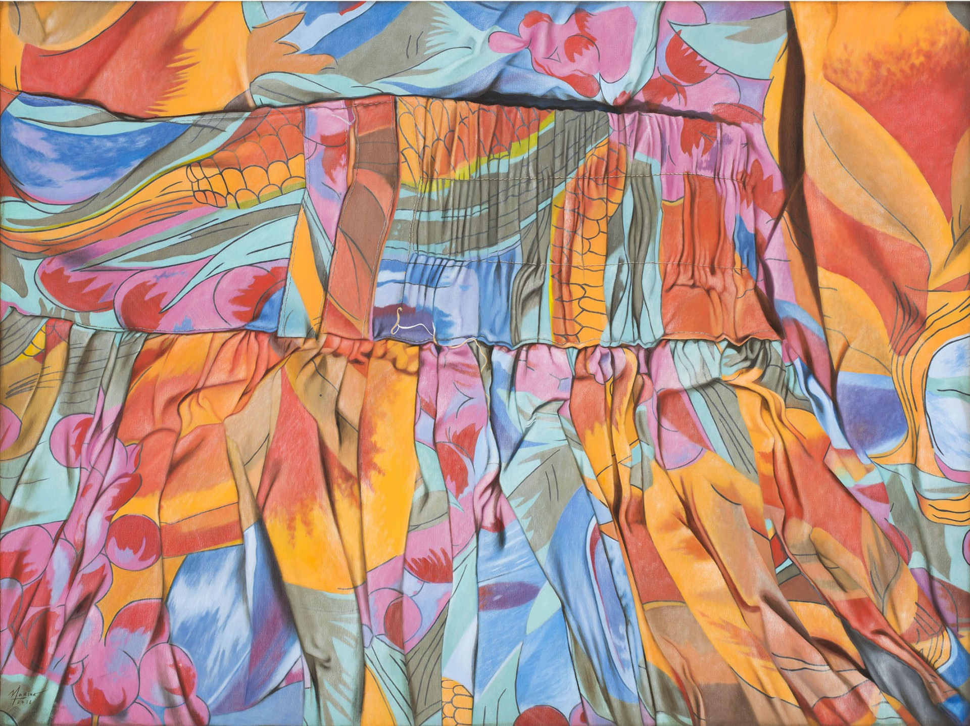Pintô | Your Door to Philippine Contemporary Art Psychedelic Patterns on Fabric