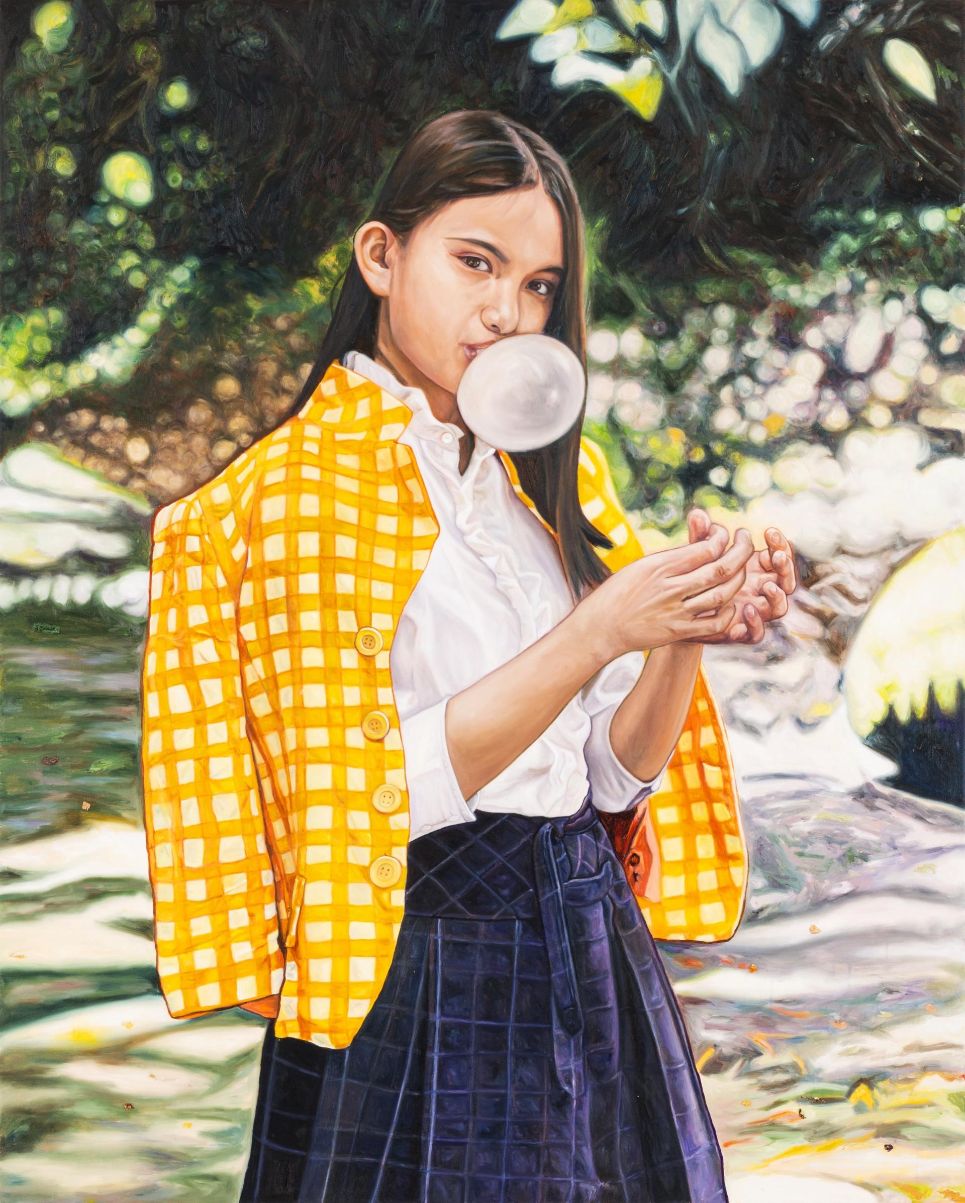 Pintô | Your Door to Philippine Contemporary Art Mika In Her Orange Coat